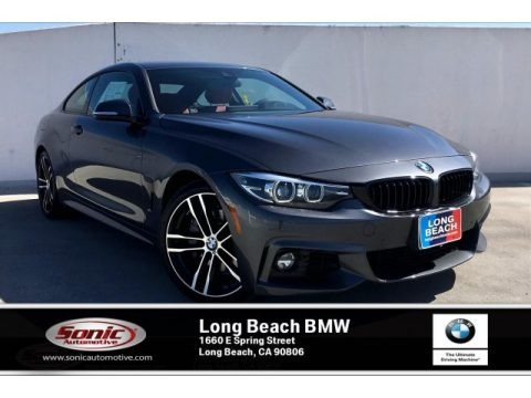 Mineral Grey Metallic 2020 BMW 4 Series 440i Coupe