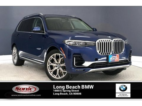 Phytonic Blue Metallic 2020 BMW X7 xDrive40i