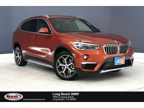 Sunset Orange Metallic 2019 BMW X1 xDrive28i
