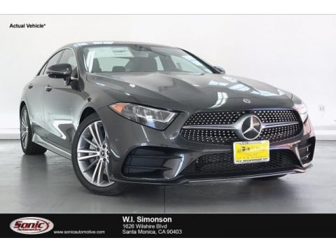 Graphite Gray Metallic 2020 Mercedes-Benz CLS 450 Coupe