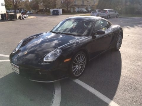 Black 2006 Porsche Cayman S