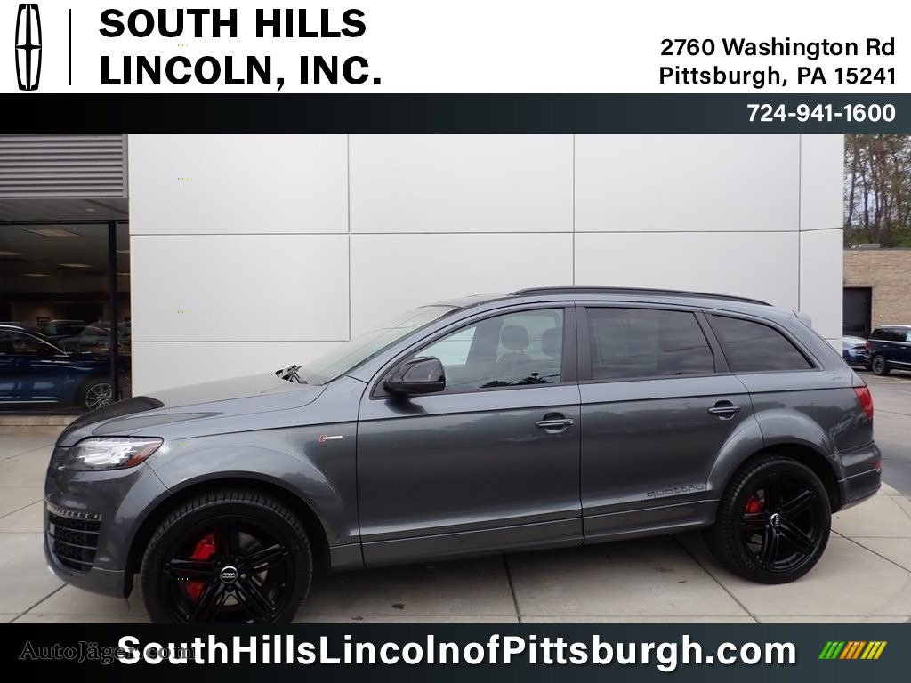 2015 Q7 3.0 Prestige quattro - Graphite Gray Metallic / Black photo #1