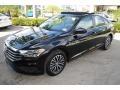 Volkswagen Jetta SE Black photo #4