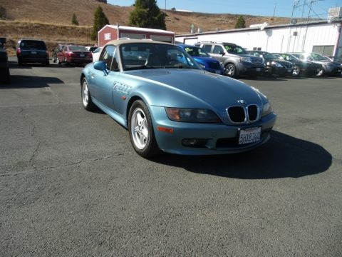 Atlanta Blue Metallic 1997 BMW Z3 1.9 Roadster