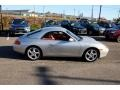 Porsche 911 Carrera Cabriolet Arctic Silver Metallic photo #4