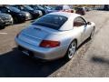 Porsche 911 Carrera Cabriolet Arctic Silver Metallic photo #5
