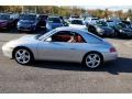 Porsche 911 Carrera Cabriolet Arctic Silver Metallic photo #8