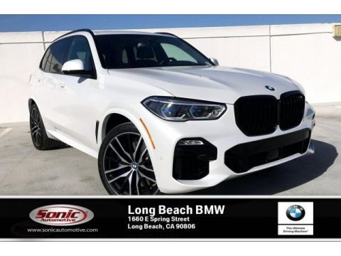 Mineral White Metallic 2020 BMW X5 M50i