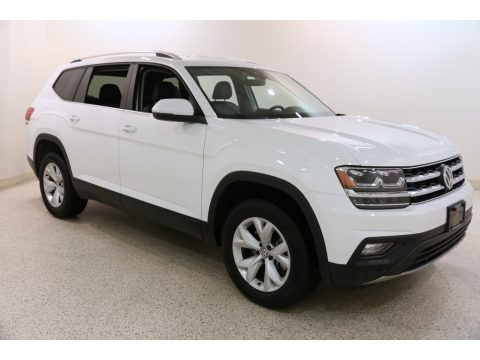 Pure White 2019 Volkswagen Atlas SE 4Motion