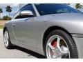 Porsche 911 Carrera Coupe Arctic Silver Metallic photo #22
