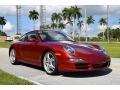 Porsche 911 Carrera S Coupe Ruby Red Metallic photo #1