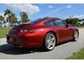 Porsche 911 Carrera S Coupe Ruby Red Metallic photo #5