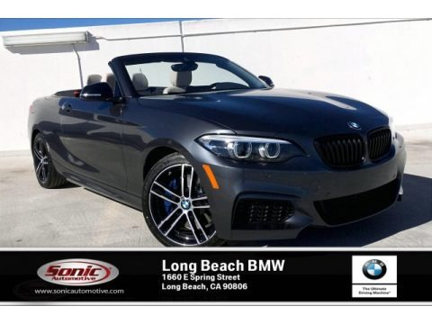 Mineral Grey Metallic 2020 BMW 2 Series M240i Convertible