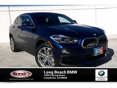 Mediterranean Blue Metallic 2020 BMW X2 sDrive28i