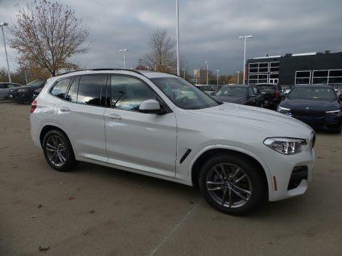 Alpine White 2020 BMW X3 xDrive30i