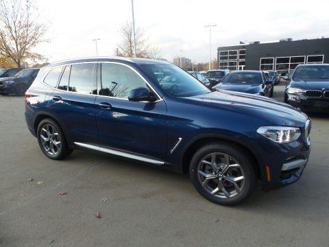 Phytonic Blue Metalli 2020 BMW X3 xDrive30i