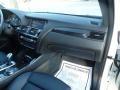 BMW X3 xDrive35i Mineral White Metallic photo #49