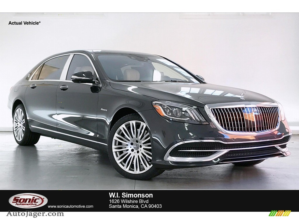 Magnetite Black Metallic / Porcelain/Black Mercedes-Benz S Maybach S560 4Matic