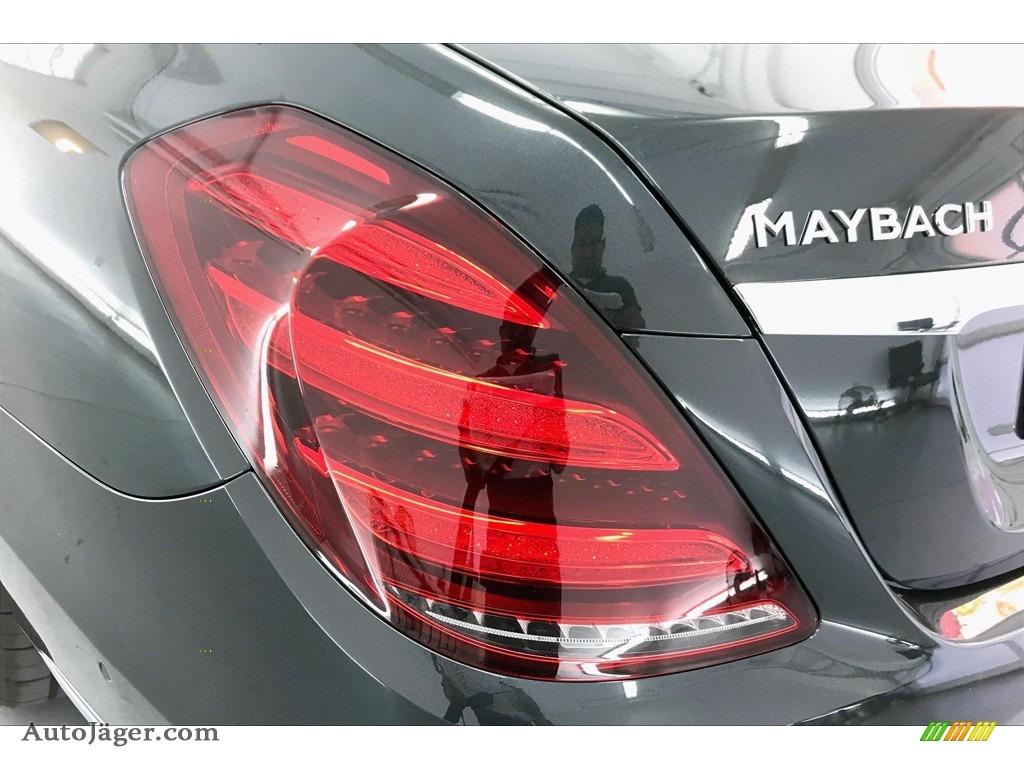 2020 S Maybach S560 4Matic - Magnetite Black Metallic / Porcelain/Black photo #26