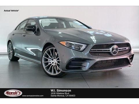 Selenite Grey Metallic 2020 Mercedes-Benz CLS AMG 53 4Matic Coupe