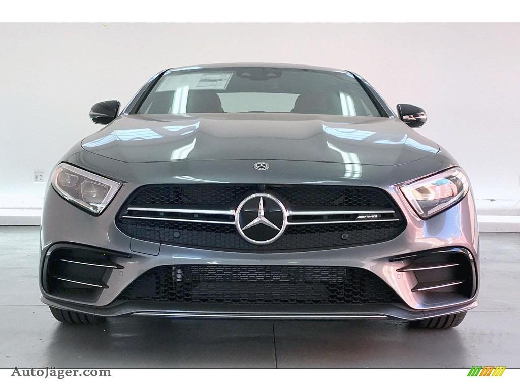 2020 CLS AMG 53 4Matic Coupe - Selenite Grey Metallic / Bengal Red/Black photo #2