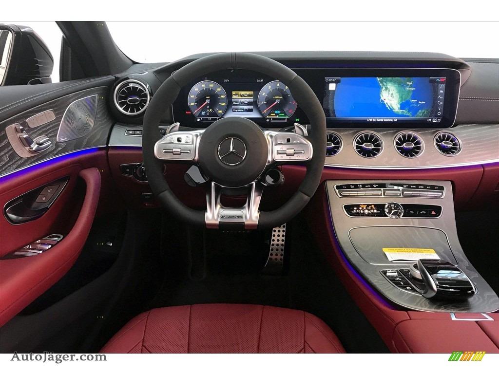 2020 CLS AMG 53 4Matic Coupe - Selenite Grey Metallic / Bengal Red/Black photo #4
