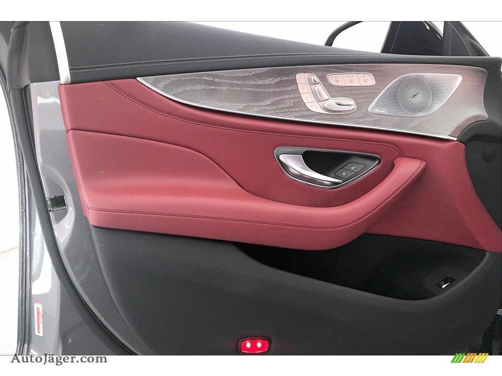 2020 CLS AMG 53 4Matic Coupe - Selenite Grey Metallic / Bengal Red/Black photo #25