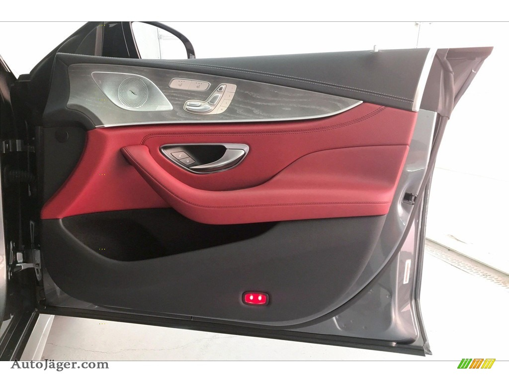 2020 CLS AMG 53 4Matic Coupe - Selenite Grey Metallic / Bengal Red/Black photo #30