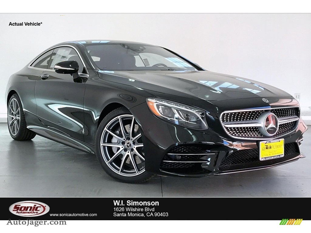 Black / Black Mercedes-Benz S 560 4Matic Coupe