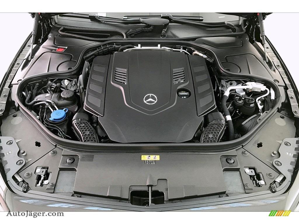 2020 S 560 4Matic Coupe - Black / Black photo #9