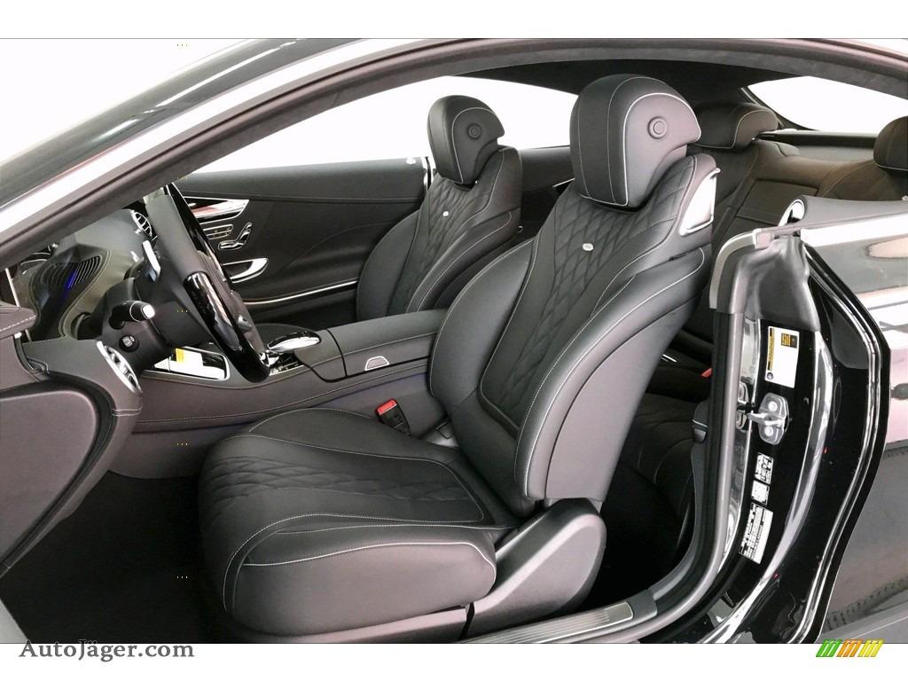 2020 S 560 4Matic Coupe - Black / Black photo #14