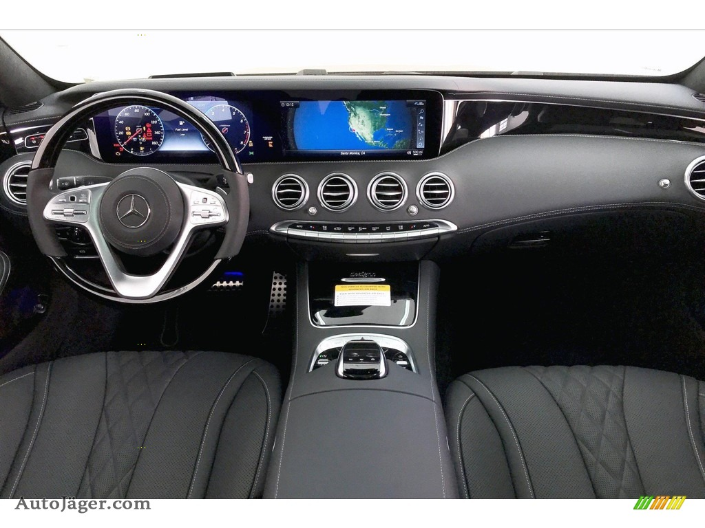 2020 S 560 4Matic Coupe - Black / Black photo #17