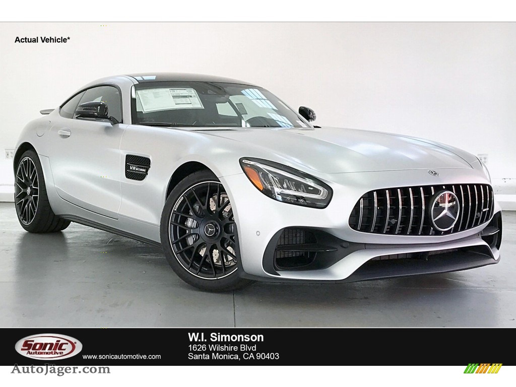2020 AMG GT Coupe - designo Iridium Silver Magno (Matte) / Red Pepper/Black photo #1
