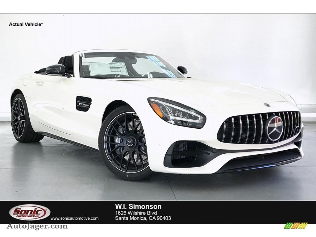 2020 AMG GT C Coupe - designo Diamond White Metallic / Black photo #1