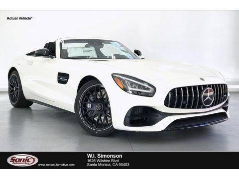 designo Diamond White Metallic 2020 Mercedes-Benz AMG GT C Coupe