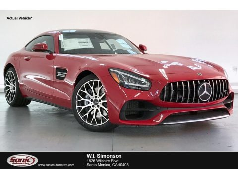 Jupiter Red 2020 Mercedes-Benz AMG GT Coupe