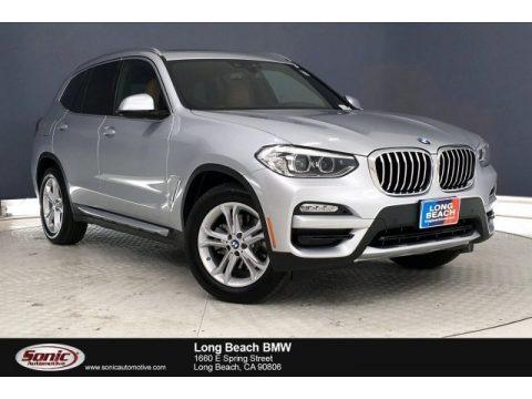 Glacier Silver Metallic 2019 BMW X3 sDrive30i