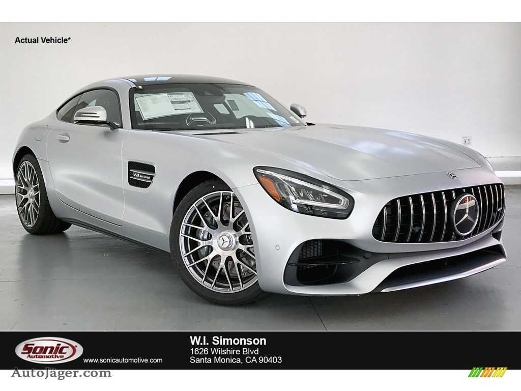 designo Iridium Silver Magno (Matte) / Red Pepper/Black Mercedes-Benz AMG GT Coupe