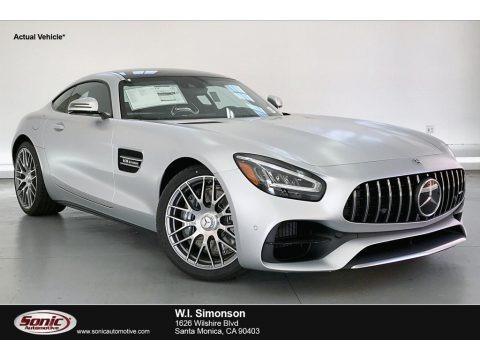 designo Iridium Silver Magno (Matte) 2020 Mercedes-Benz AMG GT Coupe