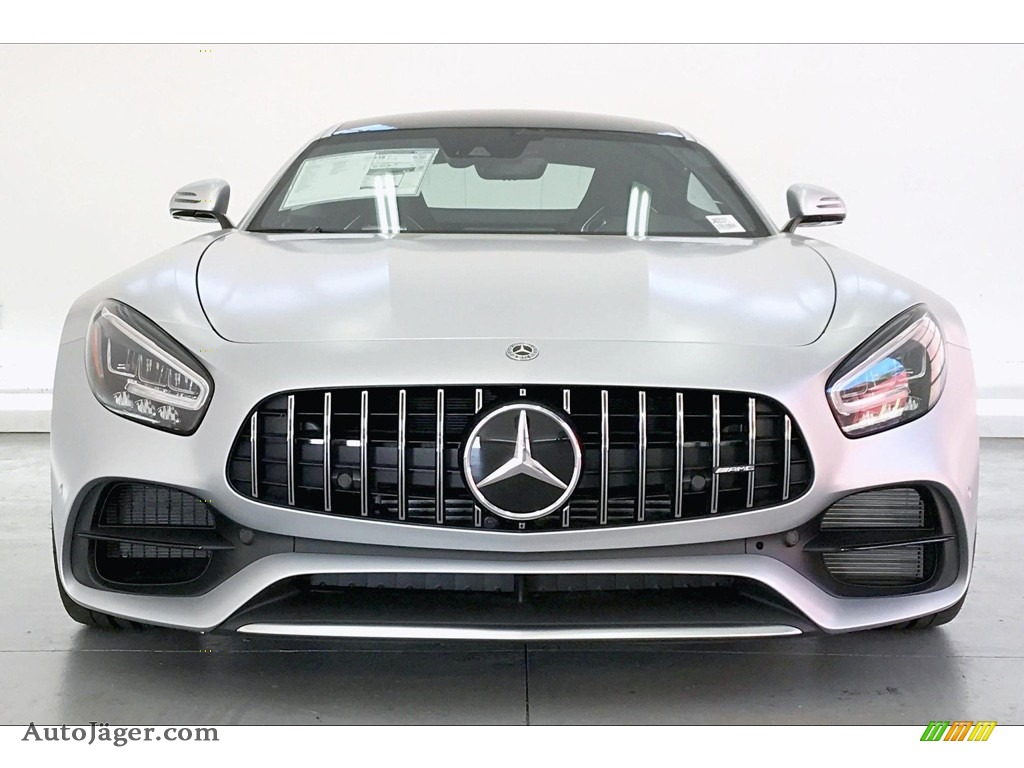 2020 AMG GT Coupe - designo Iridium Silver Magno (Matte) / Red Pepper/Black photo #2