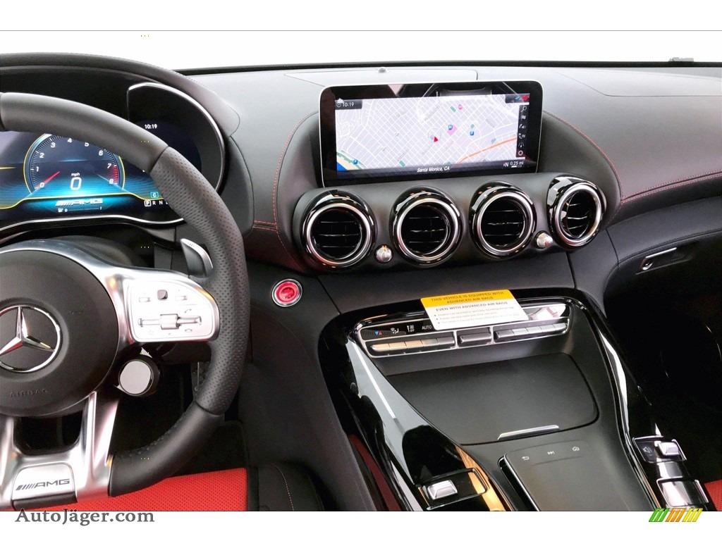 2020 AMG GT Coupe - designo Iridium Silver Magno (Matte) / Red Pepper/Black photo #5