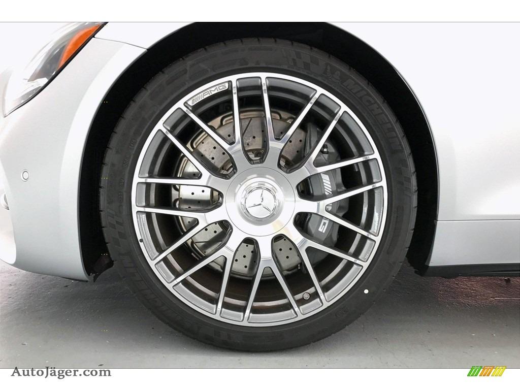 2020 AMG GT Coupe - designo Iridium Silver Magno (Matte) / Red Pepper/Black photo #8