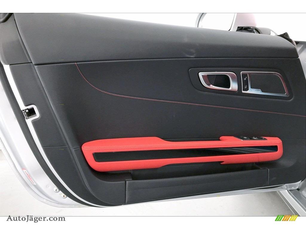 2020 AMG GT Coupe - designo Iridium Silver Magno (Matte) / Red Pepper/Black photo #23