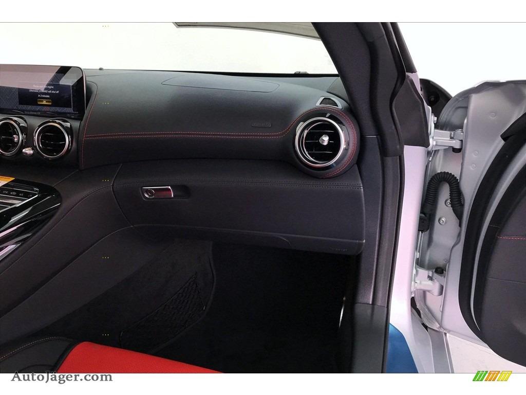 2020 AMG GT Coupe - designo Iridium Silver Magno (Matte) / Red Pepper/Black photo #26