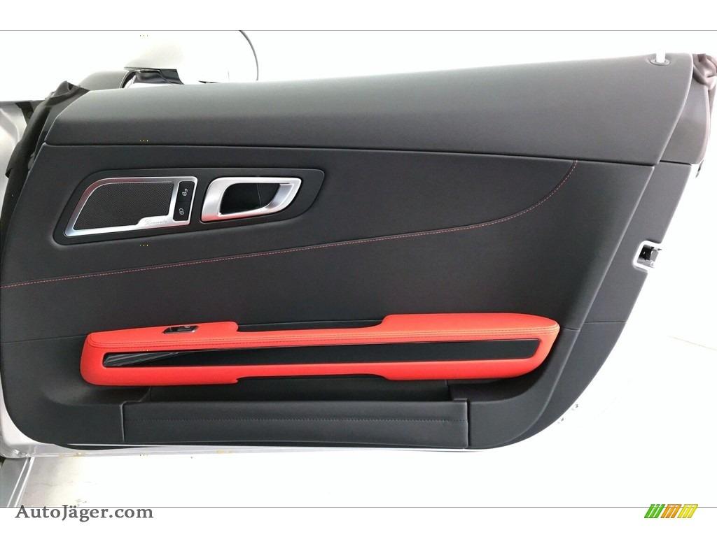 2020 AMG GT Coupe - designo Iridium Silver Magno (Matte) / Red Pepper/Black photo #28