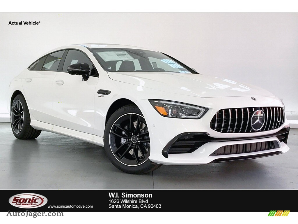Polar White / Black w/Dinamica Mercedes-Benz AMG GT 53