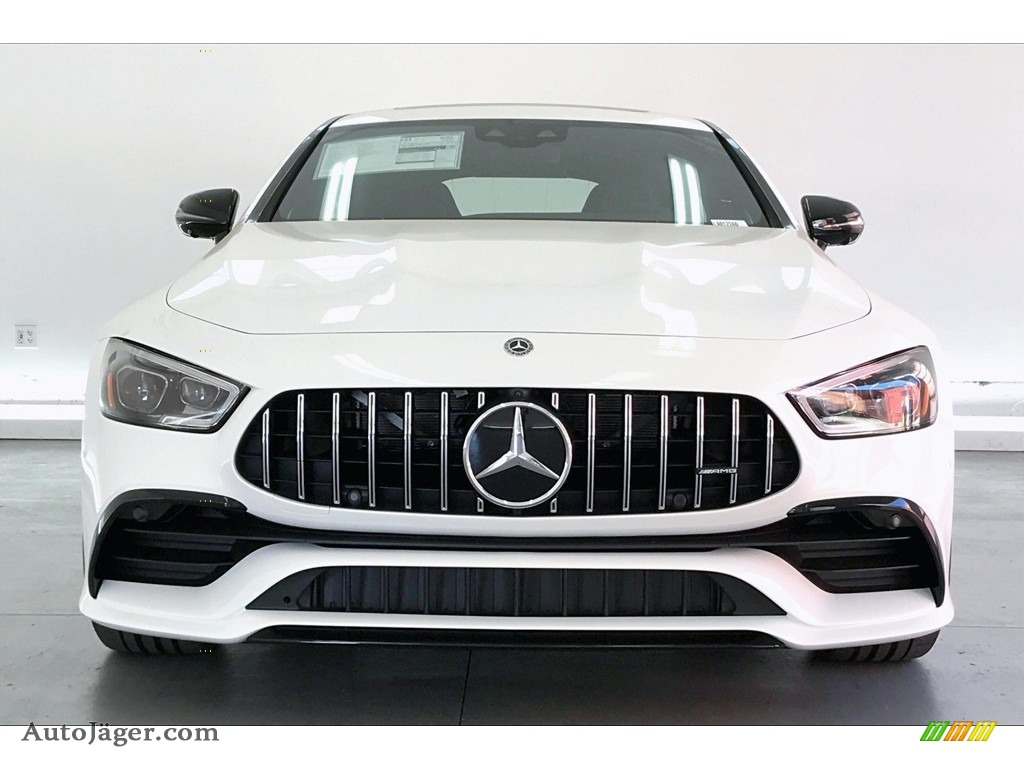 2020 AMG GT 53 - Polar White / Black w/Dinamica photo #2