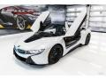 BMW i8 Roadster Crystal White Pearl Metallic photo #4
