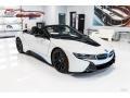 BMW i8 Roadster Crystal White Pearl Metallic photo #10
