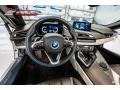 BMW i8 Roadster Crystal White Pearl Metallic photo #17